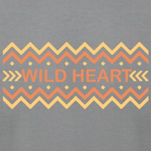 Wild heart - Men's T-Shirt by American Apparel