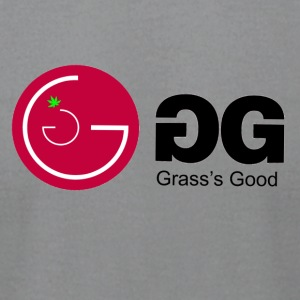 Grass is Good - Men's T-Shirt by American Apparel