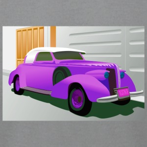 PURPLE BUICK 1938 SPECIAL CONVERTIBLE - Men's T-Shirt by American Apparel