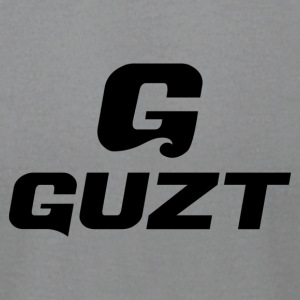 Guzt Logo Final Stacked - Men's T-Shirt by American Apparel