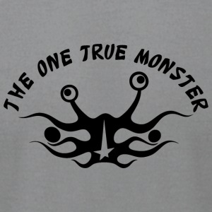 the one true monster Netherlands - Men's T-Shirt by American Apparel