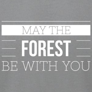 May the forest be with you - Men's T-Shirt by American Apparel