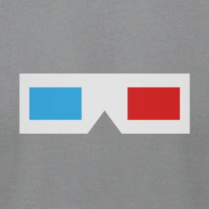 Classic 3D glasses - Men's T-Shirt by American Apparel