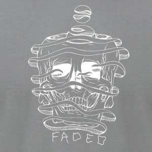 FADED white - Men's T-Shirt by American Apparel