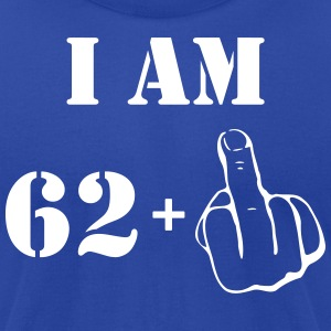 63rd Birthday T Shirt 62 + 1 Made in 1954 - Men's T-Shirt by American Apparel