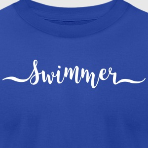 swimmer - Men's T-Shirt by American Apparel