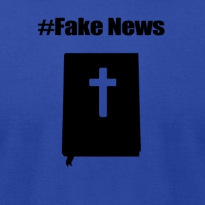 fakenews - Men's T-Shirt by American Apparel