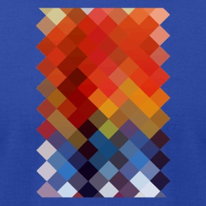 Colourful Pattern - Men's T-Shirt by American Apparel