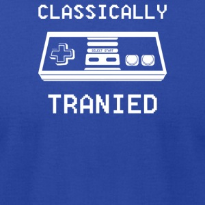 Classically Trained - Men's T-Shirt by American Apparel