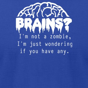 Brains - Men's T-Shirt by American Apparel