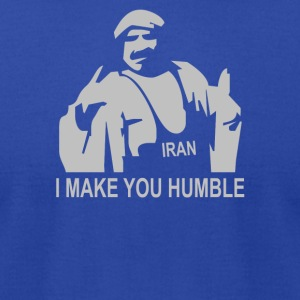 Iron Sheik Wrestling Iran Funny - Men's T-Shirt by American Apparel