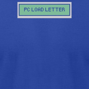 PC Load Letter - Men's T-Shirt by American Apparel