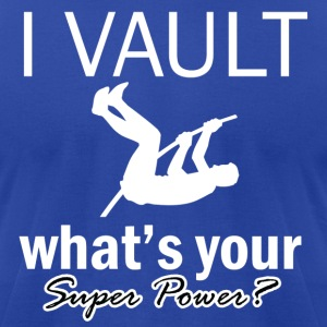 vault design - Men's T-Shirt by American Apparel