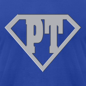 PT Super Hero - Men's T-Shirt by American Apparel