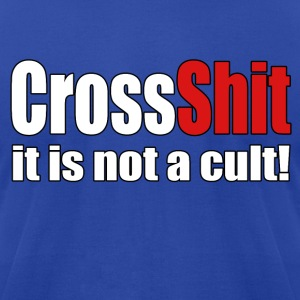 CrossShit Not a Cult - Men's T-Shirt by American Apparel