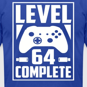 Level 64 Complete - Men's T-Shirt by American Apparel