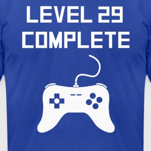Level 29 Complete - Men's T-Shirt by American Apparel