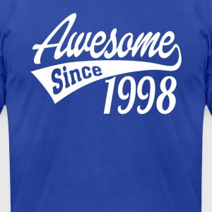 Awesome Since 1998 - Men's T-Shirt by American Apparel