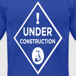 BODY UNDER CONSTRUCTION - WORKOUT SHIRT - Men's T-Shirt by American Apparel