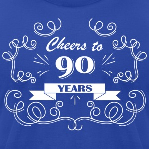 Cheers to 21 years - Men's T-Shirt by American Apparel