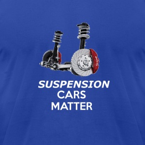 suspension car matter - Men's T-Shirt by American Apparel