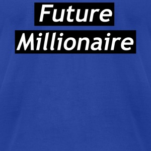 Future millionaire - Men's T-Shirt by American Apparel