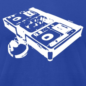 DJ Turntable - Men's T-Shirt by American Apparel