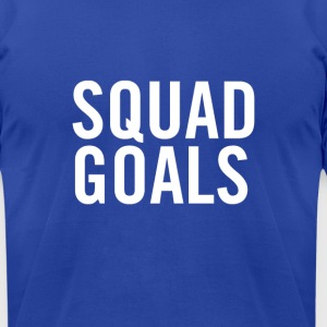 Squad Goals White - Men's T-Shirt by American Apparel