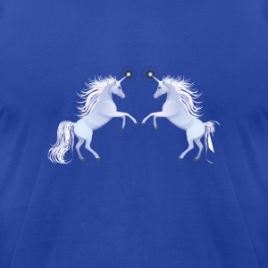unicorns horse unicorn pony magical - Men's T-Shirt by American Apparel