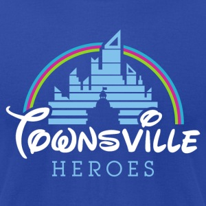 Townsville Heroes - Men's T-Shirt by American Apparel
