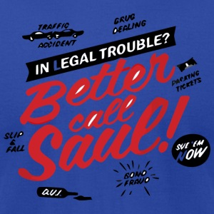 Betten Call Saul - Men's T-Shirt by American Apparel