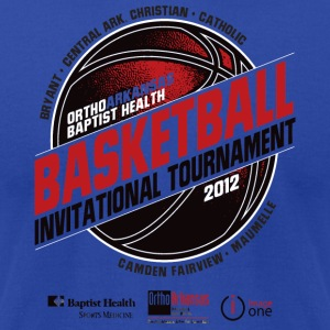 Basketball Invitational Tournament - Men's T-Shirt by American Apparel