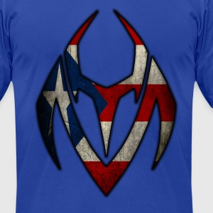 YM logo PR Flag - Men's T-Shirt by American Apparel