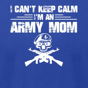 Army Mom Shirt - Men's T-Shirt by American Apparel