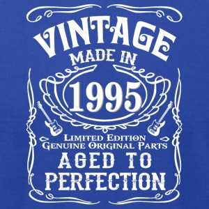 Vintage Made in 1995 Genuine Original Parts - Men's T-Shirt by American Apparel