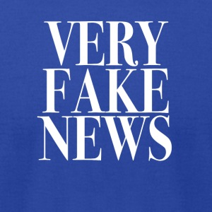 Very Fake News Trump Tee Shirt - Men's T-Shirt by American Apparel