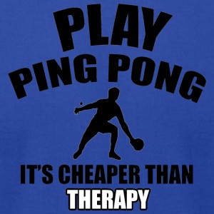 ping pong design - Men's T-Shirt by American Apparel