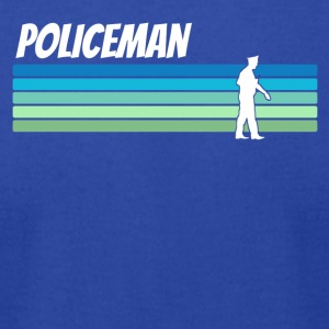 Retro Policeman - Men's T-Shirt by American Apparel