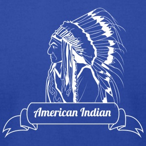 american_indian_white - Men's T-Shirt by American Apparel