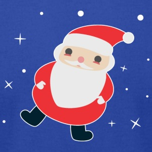 Kawaii Santa - Men's T-Shirt by American Apparel
