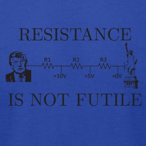 resistance is not futile - Men's T-Shirt by American Apparel