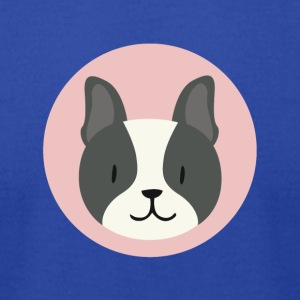 Cute Dog T-shirt design - Men's T-Shirt by American Apparel