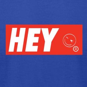 Hey There - Men's T-Shirt by American Apparel
