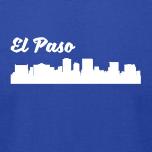 El Paso TX Skyline - Men's T-Shirt by American Apparel