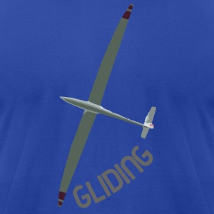 Gliding - Men's T-Shirt by American Apparel