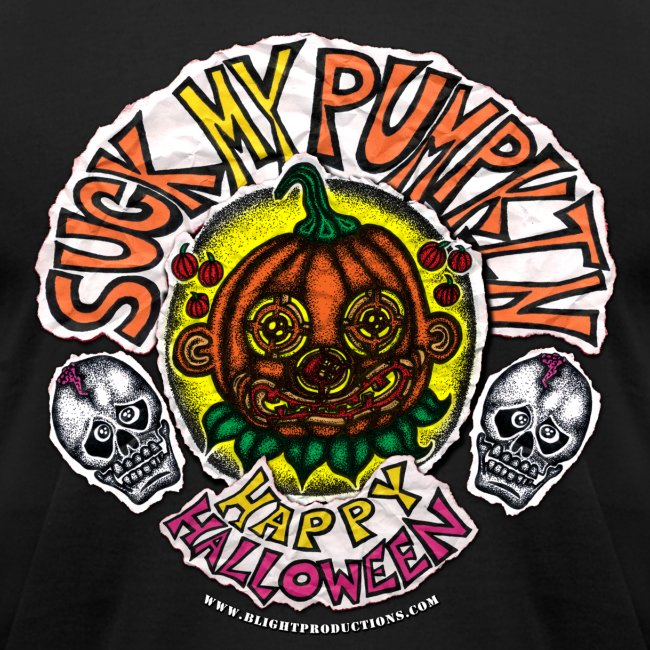 SUCK MY PUMPKIN (MENS T-SHIRT)