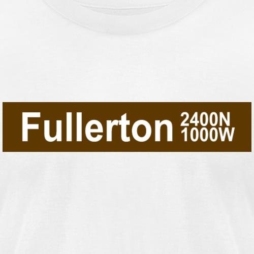 Fullerton CTA Brown Line - Unisex Jersey T-Shirt by Bella + Canvas