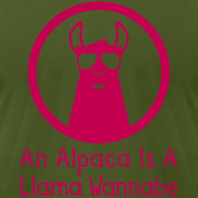 An Alpaca Is A Llama Wannabe