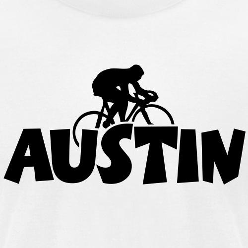 Austin Biking - Unisex Jersey T-Shirt by Bella + Canvas