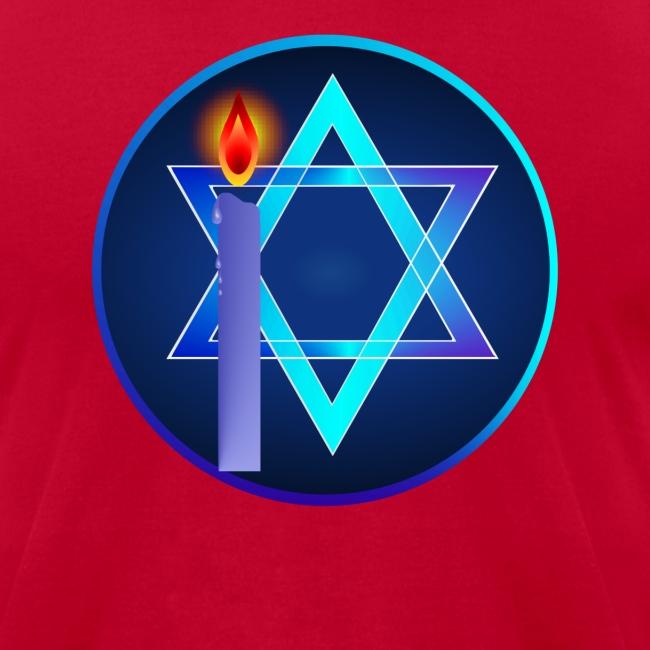 Star Of David and Light